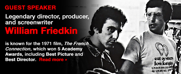 NYFA Guest Speaker Legendary Director/Producer/Screenwriter William Friedkin