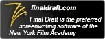 Final Draft is the preferred screenwriting software of NYFA