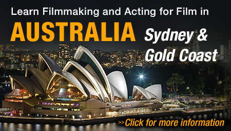 Attend NYFA film school in Sydney & Gold Coast, Australia