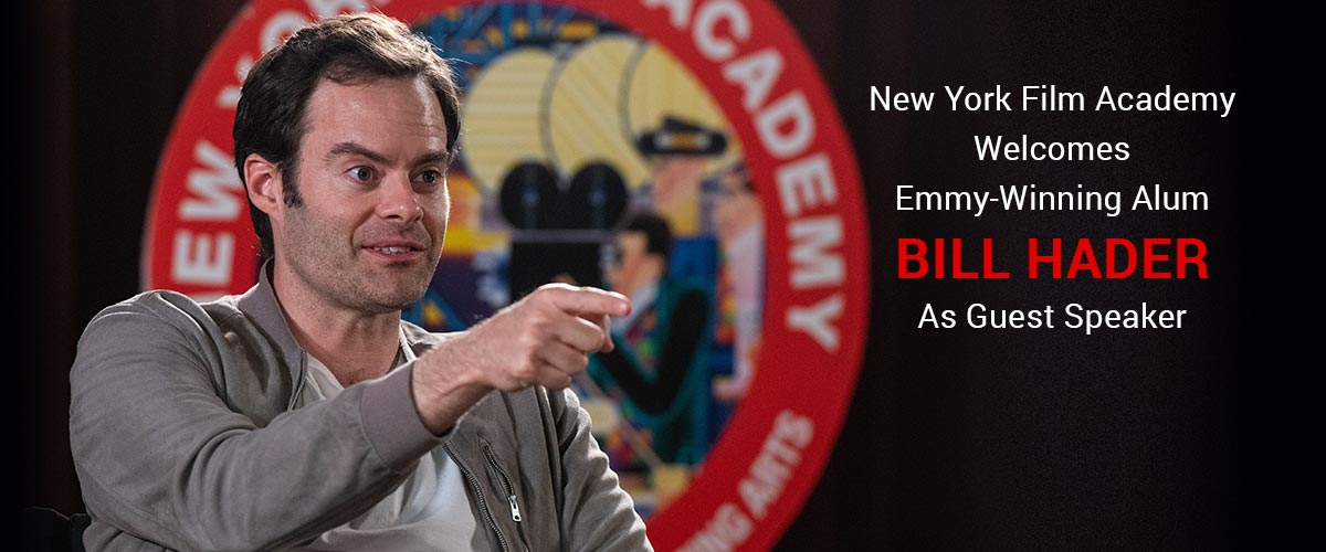 New York Film Academy (NYFA) Welcomes Emmy-Winning Alum Bill Hader as Guest Speaker