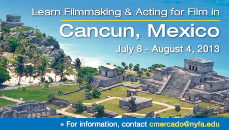 Learn about Filmmaking, Acting in Cancun, Mexico