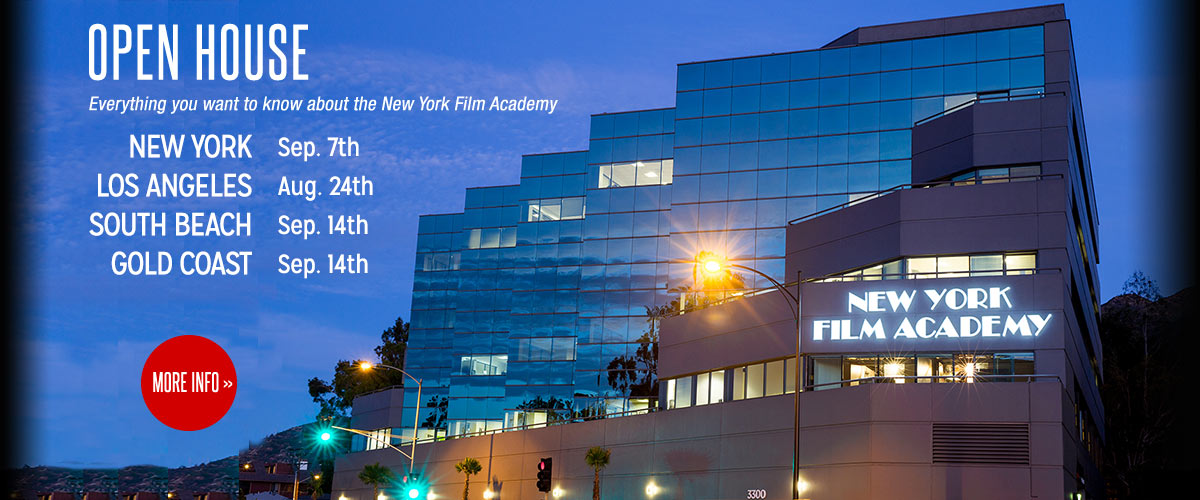 NYFA Open House events in New York, LA, South Beach, and more