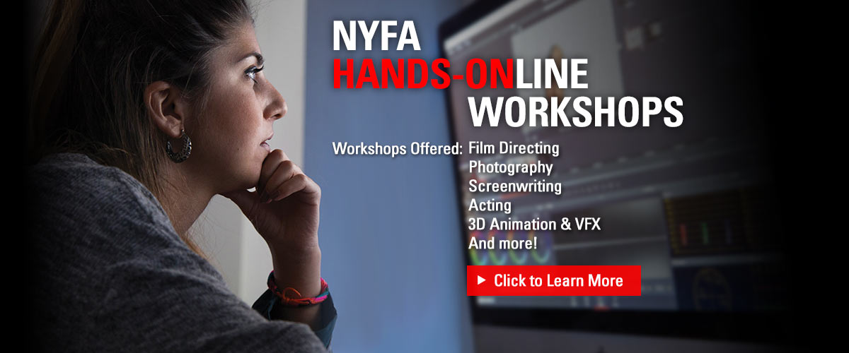 New York Film Academy offers a variety of different hands-on programs.