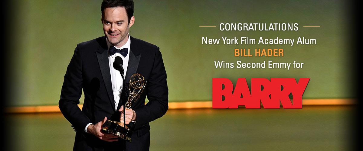 NYFA Alum Bill Hader Wins Emmy
