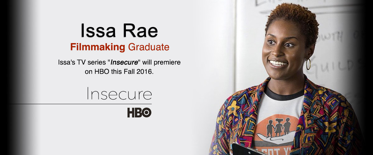 NYFA Alumna Issa Rae Stars in Her Own HBO Series Insecure
