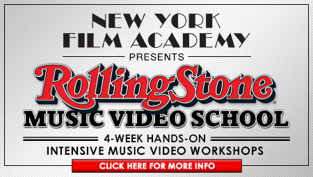 NYFA and Rolling Stone music video school