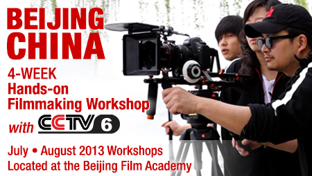 Hands-On Film School Workshop in Beijing, China
