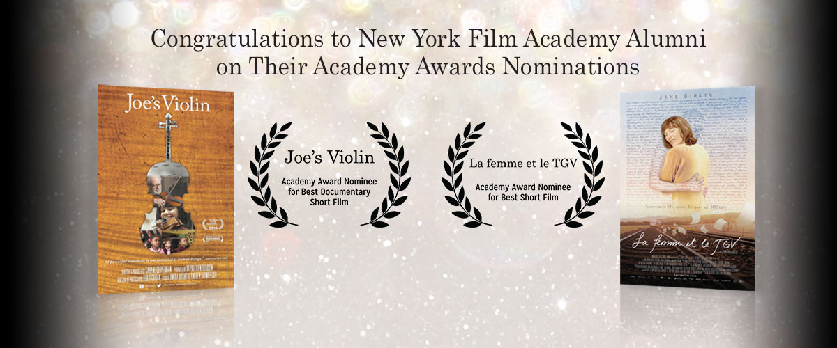 Congratulations to NYFA Alumna Raphaela Neihausen on Her Academy Award Nomination for 'Joe's Violin'