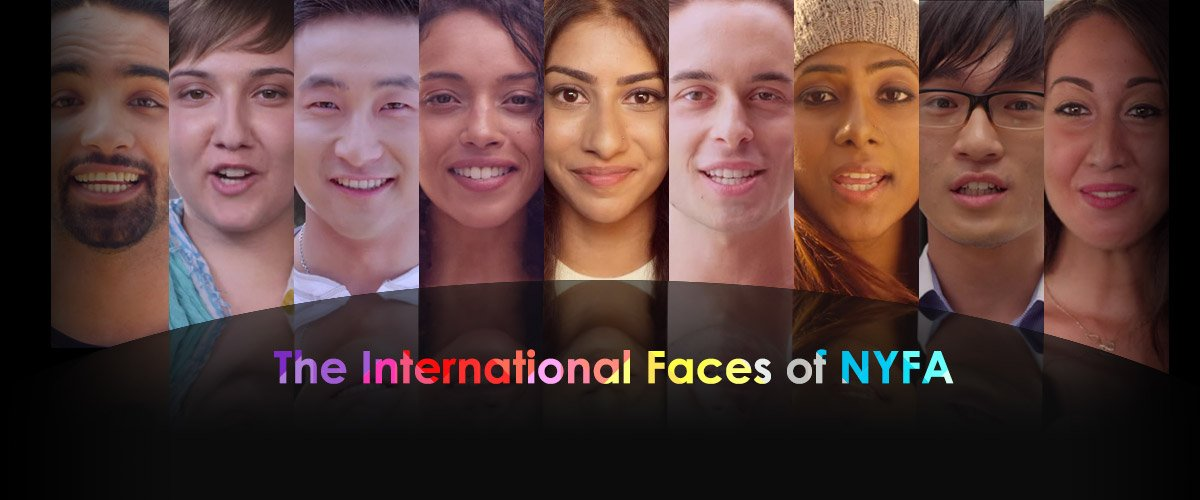 The International Faces of NYFA