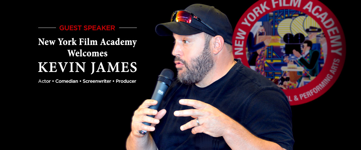 NYFA Welcomes Kevin James, Former Student Michael Soccio, and Filmmaker Leo Severino
