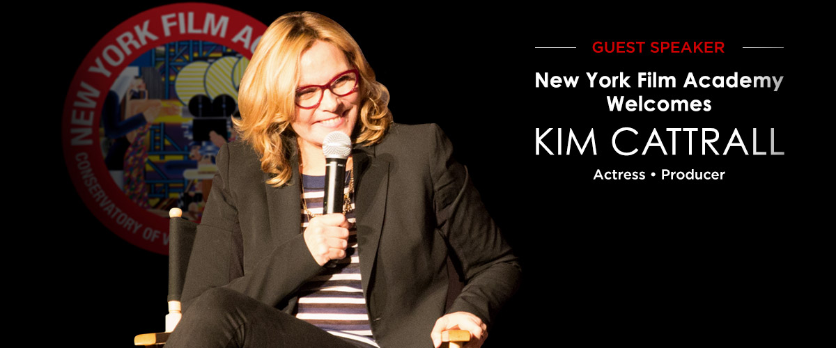 NEW YORK FILM ACADEMY SPEAKS CANDIDLY WITH ACTRESS KIM CATTRALL