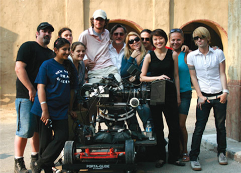 NYFA film school students on set