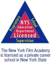NYFA is licensed as a private career school