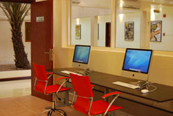 Computer Stations at NYFA Film School in Abu Dhabi, UAE