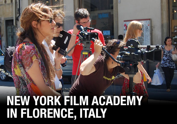 Students Shooting in Florence, Italy