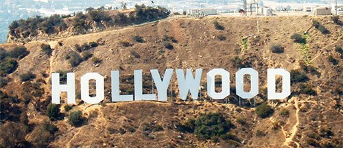 Picture of Hollywood sign in Los Angeles