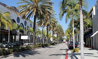 A shot of Rodeo Drive