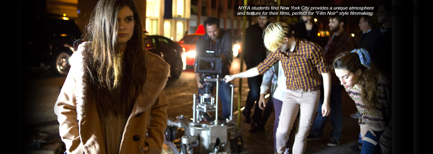 NYFA students find New York City provides a unique atmosphere