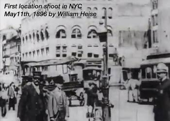 NYC is home to America's first film studio
