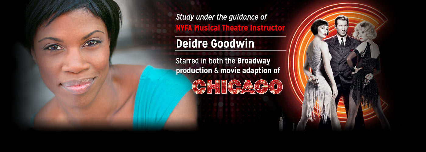 New York Film Academy musical theatre instructor Deidre Goodwin in Chicago