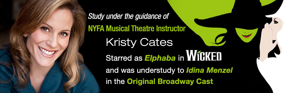 New York Film Academy musical theatre instructor Kristy Cates in Wicked