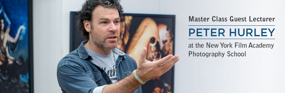 Peter Hurley Master Class - New York Film Academy Photography School