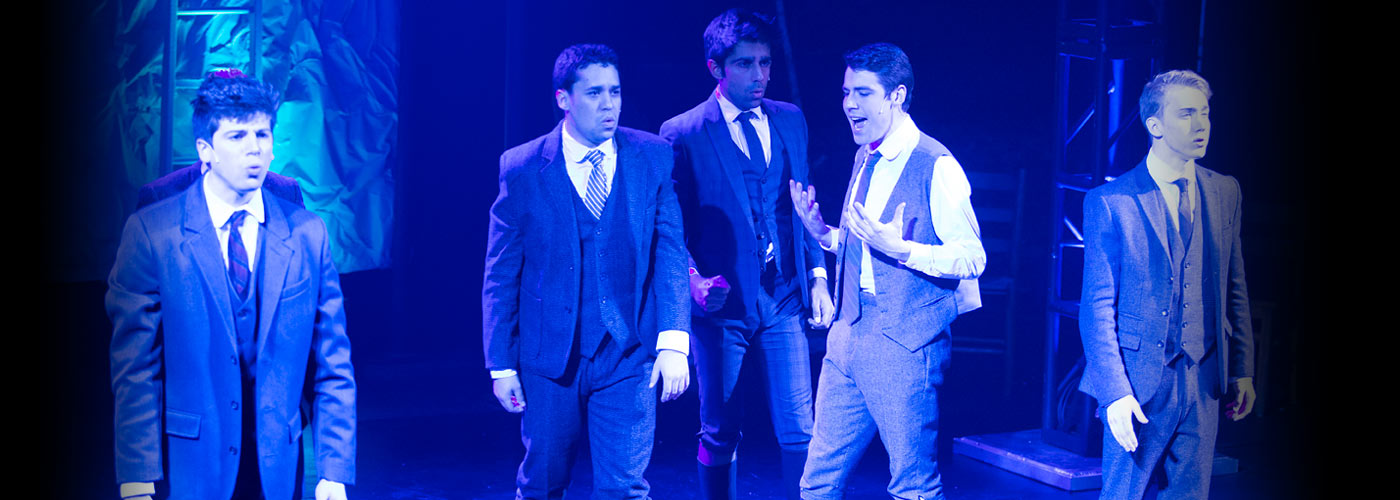 NYFA Musical Theatre School students perform a scene from Spring Awakening