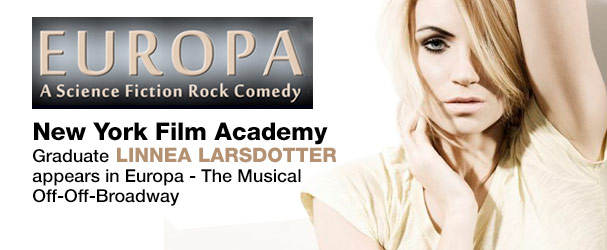 NYFA Graduate Linnea Larsdotter Appears in Europa - The Musical Off-Off-Broadway