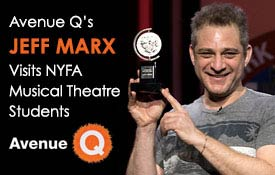 Avenue Q's Jeff Marx Visits New York Film Academy Musical Theatre Students