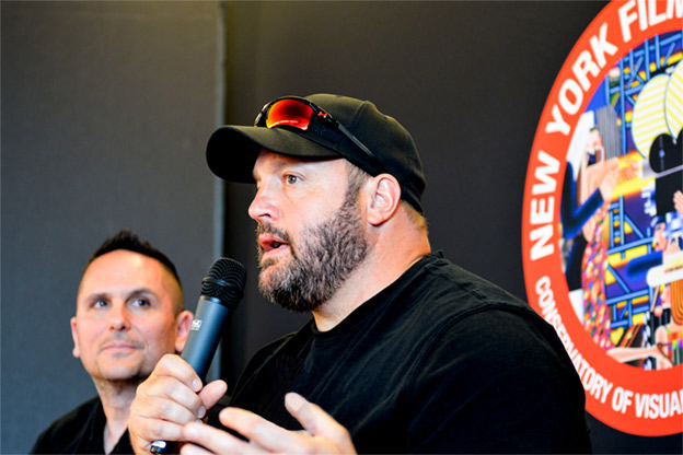 NYFA alumnus Michael Soccio with Kevin James