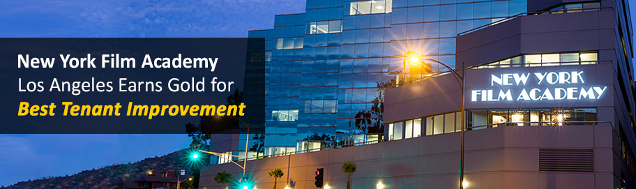 NYFA Los Angeles earns Gold for Best Tenant Improvement