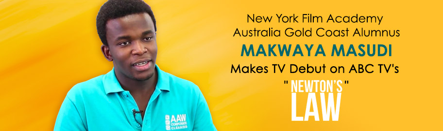 NYFA Australia Gold Coast Alumnus Makes TV Debut on ABC TV's Newton's Law