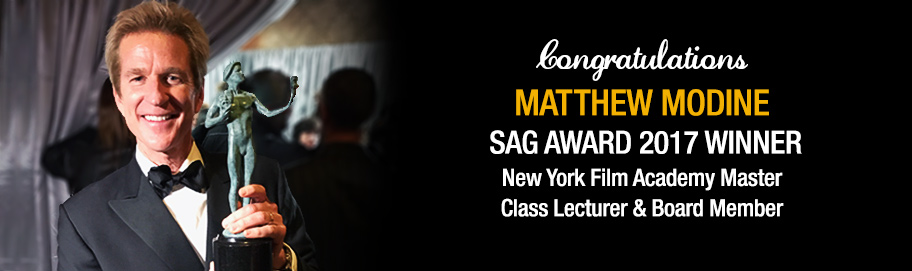 SAG Best Ensemble Award Win for Master Class Lecturer and New York Film Academy Board Member Matthew Modine