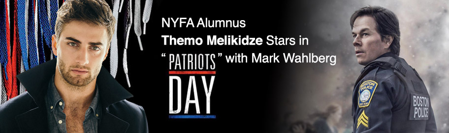 "NYFA Alumnus Themo Melikidze Stars in ""Patriots Day"" with Mark Wahlberg"