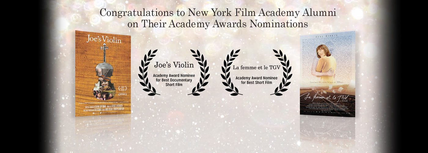 Congrats to NYFA Alumni for Their Oscar Nominations