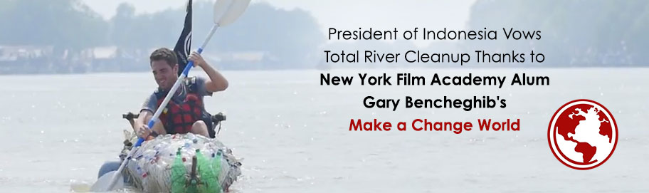 Indonesian President Vows Total Cleanup Thanks to New York Film Academy Alum's Citarum River Docs
