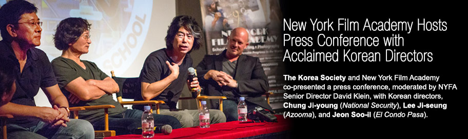 New York Film Academy Hosts Press Conference with Acclaimed Korean Directors