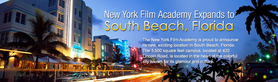 NYFA expands to South Beach Florida