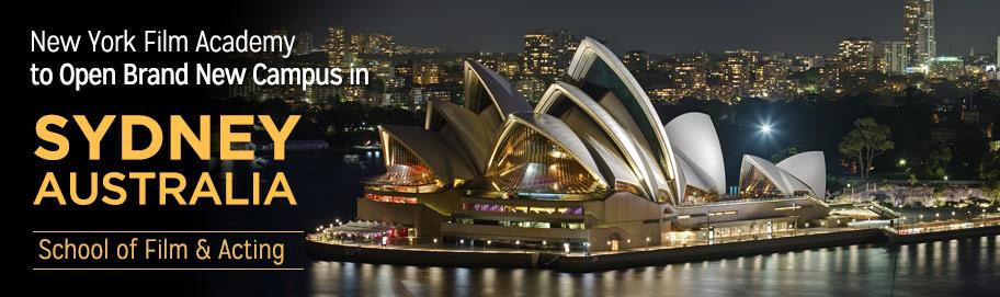 New York Film Academy To Open Brand New Campus In Sydney Australia