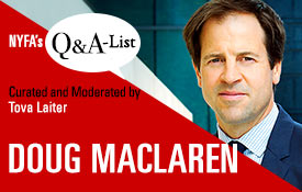 NYFA) Welcomes ICM Partners' Doug Maclaren For 'The Q&A-List Series'