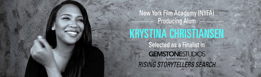 NYFA Krystina Christiansen Named Finalist in Sony's Gemstone Studios' Inaugural Rising Storytellers Search