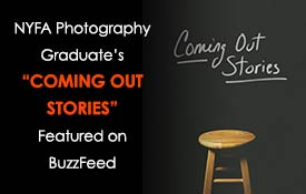 NYFA Photography Graduate's 'Coming Out Stories' Featured on BuzzFeed