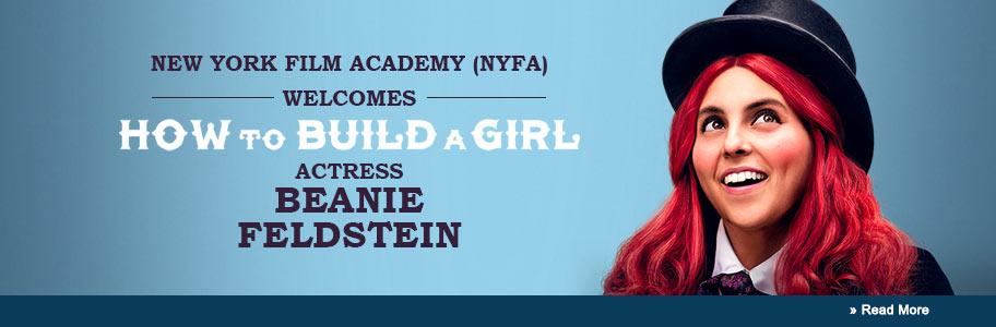 NYFA Welcomes Beanie Feldstein
