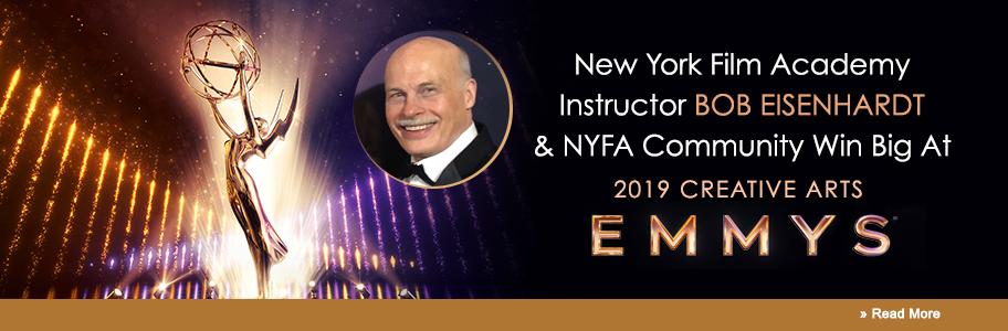 New York Film Academy Instructor Bob Eisenhardt & NYFA Community Win Big At 2019 Creative Arts Emmys