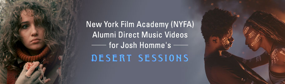 NYFA Welcomes Filmmaking Alum  directs Josh Homme Desert Sessions