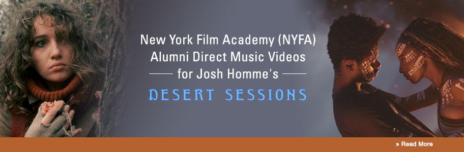NYFA Filmmaking Alumni direct Josh Homme's Desert Sessions