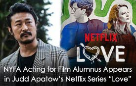 NYFA Acting for Film Alumnus Appears in Judd Apatow's Netflix Series Love