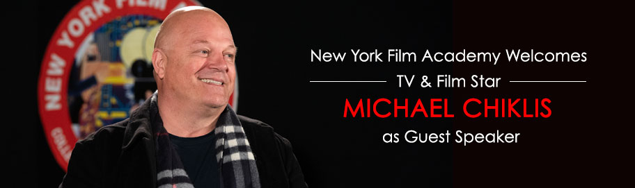 NYFA Welcomes Actor Michael Chiklis