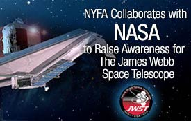 NYFA collaborates with NASA to raise awareness for space telescope
