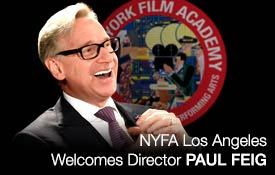 NYFA Los Angeles Welcomes Director Paul Feig